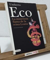 La misteriosa flama de la Reina Loana. Una novela il.lustrada - Umberto Eco