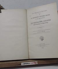 La propriété fonciére privée et ses adversaires ou Le socialisme agraire de E. de Laveleye et de Henry George (Dedicado por el autor) - V. Cathrein S. J.