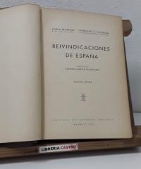 Reivindicaciones de España - José Mª de Areilza y Fernando Mª Castiella