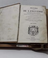 Histoire générale de Languedoc, ávec des notes et les pièces justificatives. Tome Sixième - Claude de Vic et Dom Vaissete