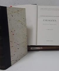 Catálogo Monumental de España. Zaragoza (II tomos) - Francisco Abbad Rios