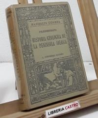 Historia geológica de la península ibérica - L. Fernández Navarro