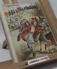 Patita y Mila, estudiantes - Elena Fortún