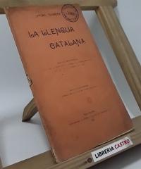 La llengua catalana - Àngel Guimerà