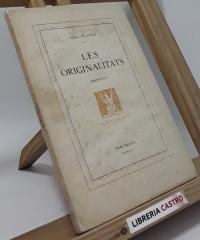 Les originalitats (edició numerada) - Joan Fuster