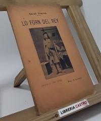 Lo forn del rey (drama en tres actes) - Frederich Soler y Hubert (Serafí Pitarra)