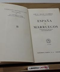 España y Marruecos - José Mª Millás Vallicrosa