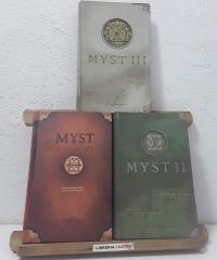 Myst. El libro de Atrus, de Ti'ana y de D'ni (III Tomos) - Rand Miller con David Wingrove