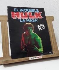 """El increíble Hulk """"La Masa"""" Álbum Completo (180 cromos) - Varios"""