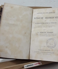 Institutiones fundamentales linguae aramaicae seu dialectorum chaldaicae ac syriacae - Hermanno Zschokke