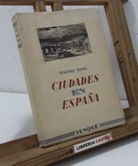 Ciudades en España - Eugenio Nadal
