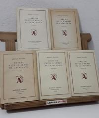 Libre de feyts d'armes de Catalunya (V Volums) - Bernat Boades
