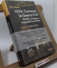 1934: Comienza la guerra civil - Pío Moa