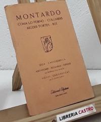 Guía cartográfica. Montardo - Varios