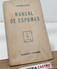 Manual de Espumas - Gerardo Diego