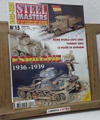 Steel Masters Nº 15. Espagne 1936 - 1939 - Varios