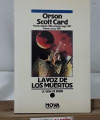 La voz de los muertos (saga de Ender) - Orson Scott Card