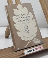 Antologia de la Poesia Valenciana - Varios
