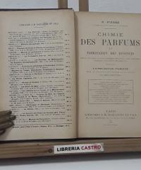 Chimie des Parfums - S. Piesse