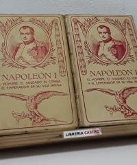 Napoleón I, íntimo (II Tomos) - Juan B. Enseñat