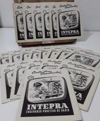 Constructiva Experimental (20 cuadernos completo) Interpra, enseñanza práctica de radio - Varios