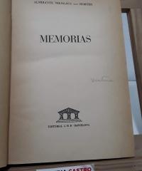 Memorias - Almirante Nikolaus von Horthy