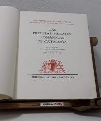 Monumenta Cataloniae Vol. IV. Materiales para la historia del arte en Cataluña. Las Pinturas Murales Románicas de Cataluña (Numerado) - José Pijoán