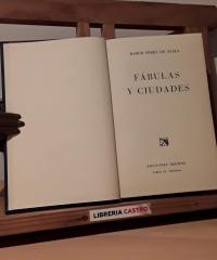 Fábulas y ciudades - Ramón Pérez de Ayala