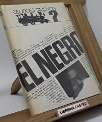 El negro - Georges Simenon