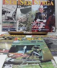 Revista Serga. Historia Militar del Siglo XX (13 Números NO correlativos) - Varios