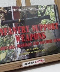 Infantry support weapons. Mortars, misiles and machine guns - Ian V. Hogg