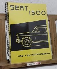 Seat 1500. Uso y entretenimiento (Fotocopias) - Varios