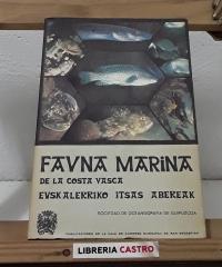 Fauna marina de la costa vasca. Euskalerriko itsas abereak - Varios