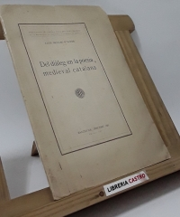 Del diàleg en la poesia medieval catalana - Lluís Nicolau D´Olwer