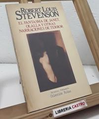 El Fantasma de Janet, Olalla y otras narraciones de terror - Robert Louis Stevenson