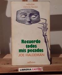 Recuerdo todos mis pecados - Joe Haldeman