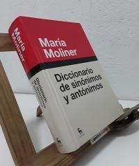 Diccionario de sinónimos y antónimos - María Moliner