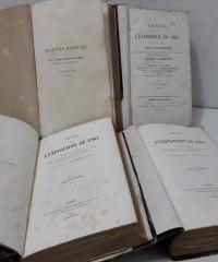 Revue de l'Exposition de 1867 IV Tomes - Cuyper, Dwelshauvers-Dery, Goschler, Grandeau, Salvetat, Louis Perard