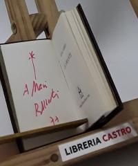 La amante. (Dedicado por el autor) - Rafael Alberti