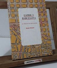 Espriu i Barcelona. Al principi va ser Lavínia - Ramon Balasch