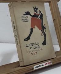 Aucells de gabia. els carrilaires. (Dedicat per l'autor) - E. Coca Vallmajor KOK