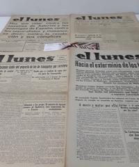 El Lunes Periódico Político e Informativo. XXXIII Números - Varios
