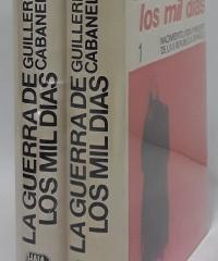 La guerra de los mil días (II Tomos) - Guillermo Cabanellas