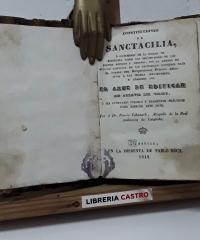 Constituciones de Sanctacilia - Poncio Cabanach