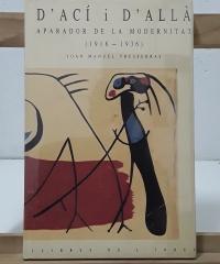 D´ací i d´allà. Aparador de la modernitat (1918-1936) - Joan Manuel Tresserras