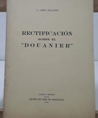 Rectificación sobre el Douanier - Alexandre Cirici Pellicer