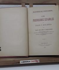 Los precursores españoles de Bacon a Descartes - Eloy Bullón y Fernández