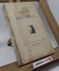 La lucha por la vida. Mala hierba - Pío Baroja