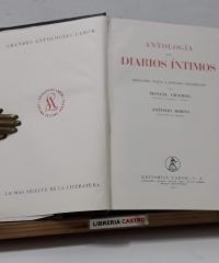 Antología de Diarios Íntimos - Varios