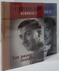 Memorias. Los pasos contados (II tomos) - Fernando Vizcaíno Casas